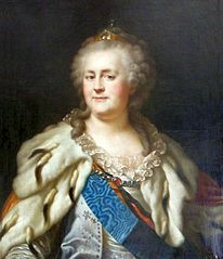 Portrait of Catherine II of Russia.