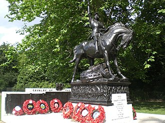 Cavalry of the Empire Memorial - Image: Cavalry of the Empire Monument, Hyde Park W1 geograph.org.uk 1384932