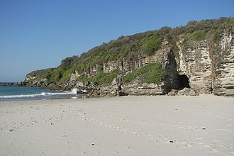 Booderee National Park and Botanic Gardens - Cave Beach