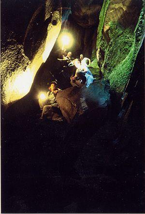Valdes Island - Cave on Valdes Island