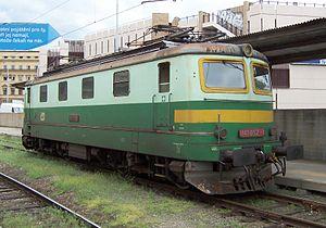 ČSD Class E 499.1 - 141.052 in Prague
