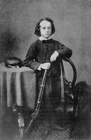 Cecil Rhodes - Rhodes as a boy