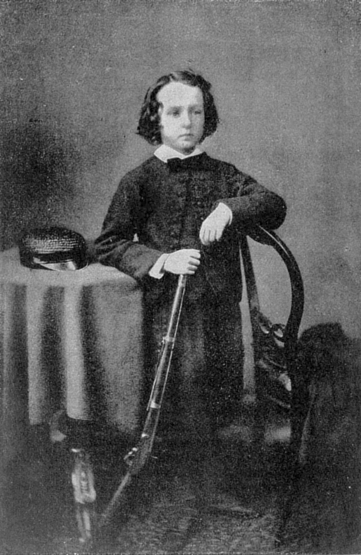 Cecil Rhodes as a boy