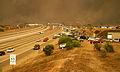 Cedar Fire crosses Interstate 15.jpg