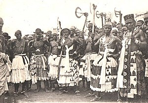 Celebration at Abomey.- Important witchdoctors.jpg