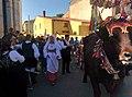 Celebrazione religiosa durante la sfilata dei carri de s'àlinu (àbiu).jpg