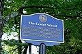 Center School marker - Sturbridge, Massachusetts - DSC06006.jpg