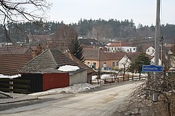 Center of Rudíkov, Třebíč District.jpg