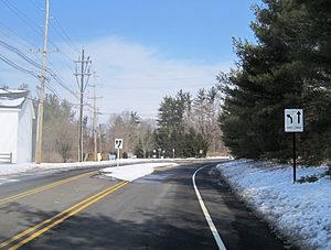 Centerville, Mercer County, New Jersey - Center of Centerville