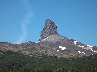 Cerro Pantoja mountain in Argentina