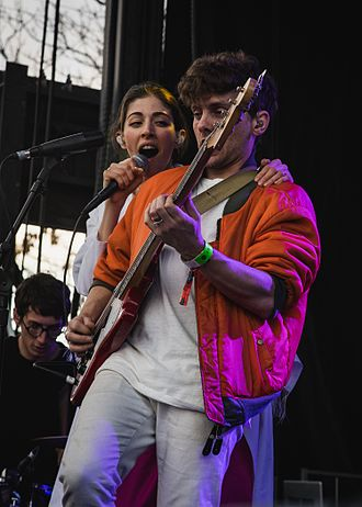 Chairlift (band) - Chairlift performing at Treefort Music Fest, March 2016