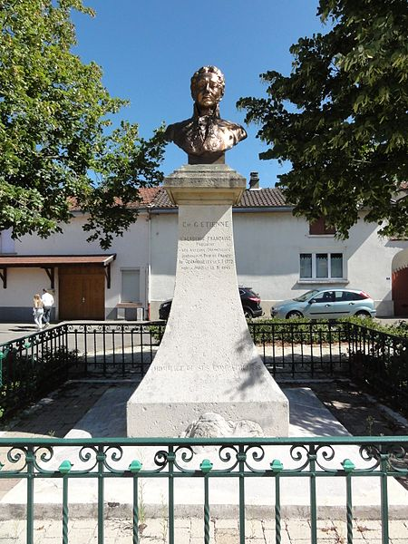 Chamouilley (Haute-Marne) buste Ch.G.Etienne