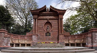 James Timmins Chance - Memorial in West Smethwick Park
