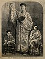 Chang Yu-sing the Chinese giant, with his wife King-Foo,and Wellcome V0007382.jpg