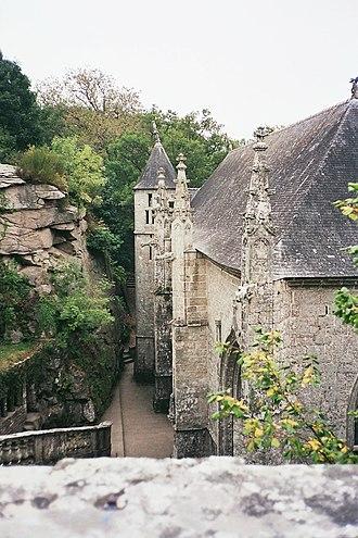 Le Faouët, Morbihan - Chapel of Saint Barbara.