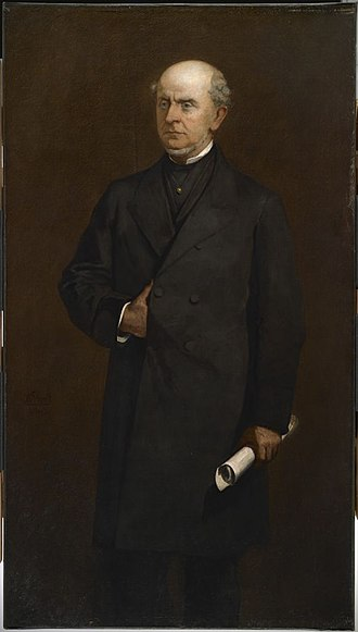 Charles Francis Adams Sr. - Portrait of Adams in 1867 by William Morris Hunt