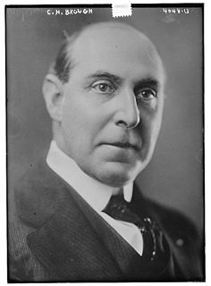 Charles Hillman Brough American academic and politician