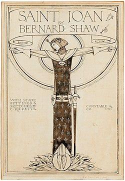 Charles de sousy ricketts ra cover design for saint joan102615).jpg