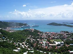 Vy over Charlotte Amalie