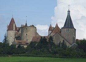 Château et église de Châteauneuf