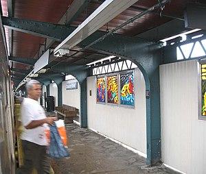 Chauncey Street (BMT Jamaica Line) - Northbound platform