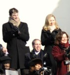 Chelsea Clinton and Marc Mezvinsky at 2009 inauguration 090120-F-MJ260-135.jpg