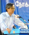 Chen Show Mao at a Workers' Party general election rally, Serangoon Stadium, Singapore - 20110429 (cropped).jpg