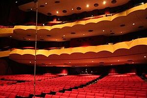 Chester Fritz Auditorium - Interior of the Chester Fritz Auditorium