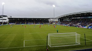 Chesterfield F.C. - The stadium in February 2011