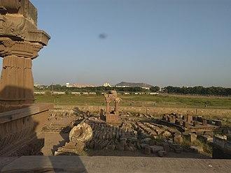Bhuj - Bhujia hill from Chhatedi