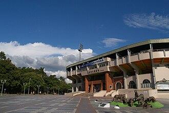 Chiayi City Municipal Baseball Stadium - Image: Chiayi Baseball Field 01