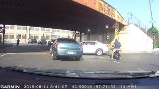 Hit and run failing to stop after causing or contributing to a traffic accident