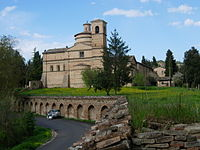 The church of San Bernardino near Urbino.