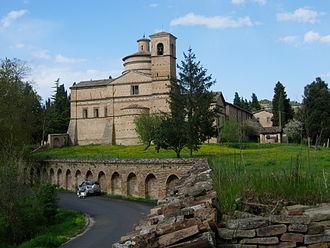 Urbino - The church of San Bernardino near Urbino.