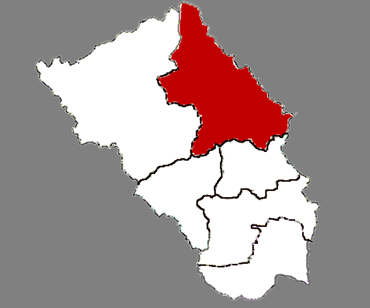 Location in Zaozhuang