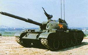 Type 59 tank - Type 59-IIA tanks.