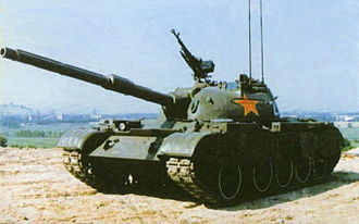 Type 59 tank - Type 59-IIA tanks.