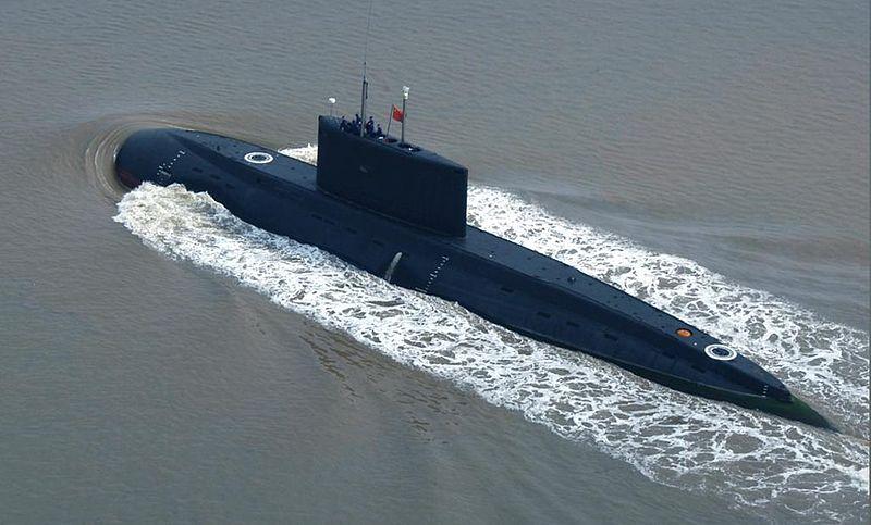 موسوعة سلاح الغواصات الصينيه  800px-Chinese_Kilo_in_service