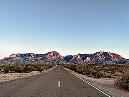 Photo of the Chisos Mountains