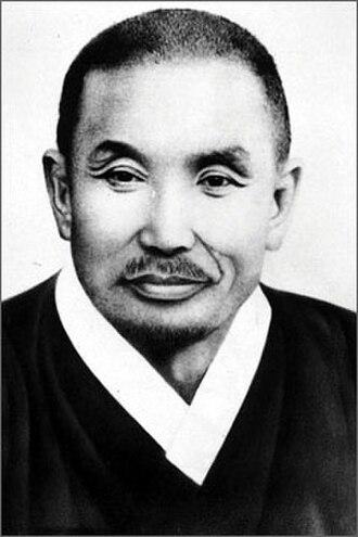 People's Committee (postwar Korea) - Portrait of Cho Mansik in 1947