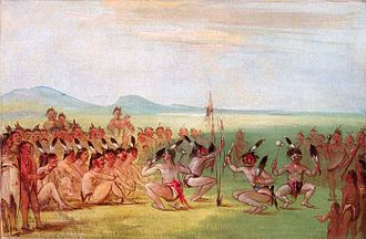 Red Shoes (Choctaw chief) - Eagle Dance, 1835-37, Smithsonian American Art Museum