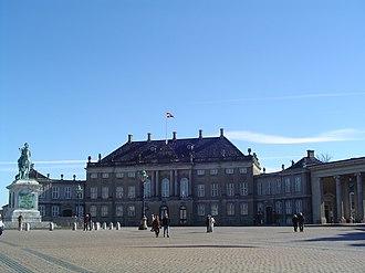 Amalienborg - Christian IX's Palace (Schack's Palace)