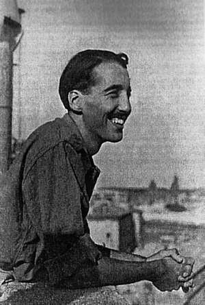 Christopher Lee - Flying Officer C. F. C. Lee in Vatican City, 1944, soon after the Liberation of Rome