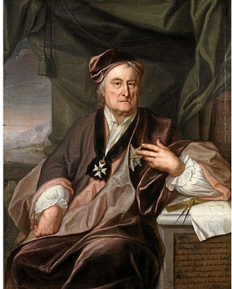 Christopher Polhem - Image: Christopher Polhem painted by Johan Henrik Scheffel 1741