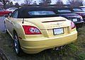 Chrysler Crossfire roadster yellow and second black NC.jpg