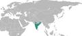 Chrysochroa ocellata distribution map.png