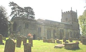 Enstone - Image: Church Enstone St Kenelm North East afternoon