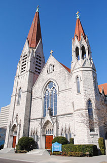 Basilica of the Immaculate Conception (Jacksonville) Church in Florida, United States