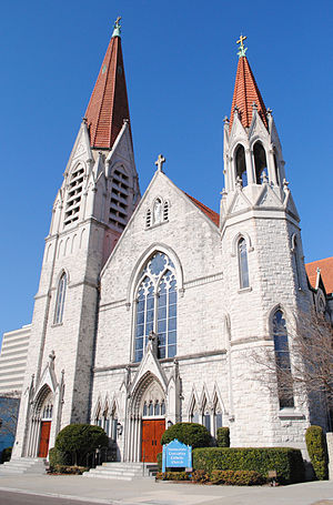 Basilica of the Immaculate Conception (Jacksonville) - Image: Church Jax 1