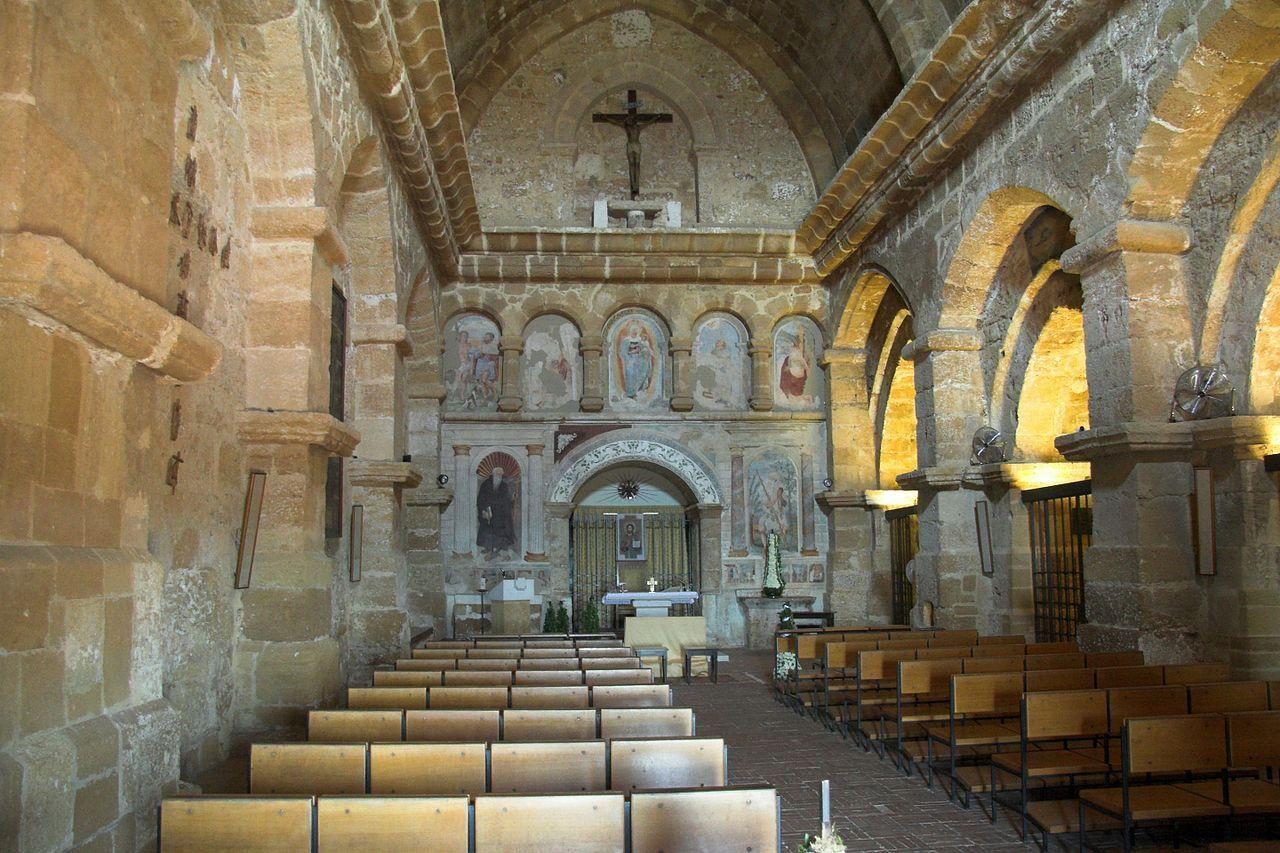 Church San Nicola, 13th c, Agrigento, interior, 120802.jpg